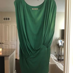 FOLEY + CORINNA emerald green dress